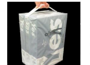 Embalagem Com Alça Adesiva - Reembalar